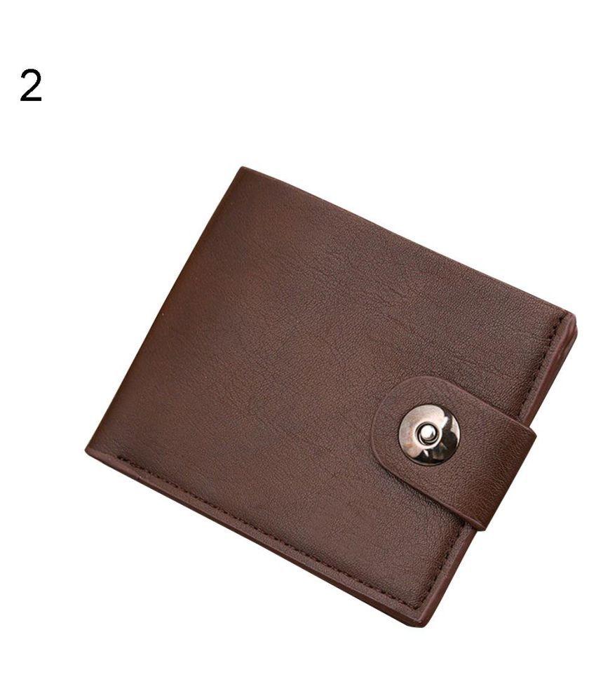 Fashion Men/'s PU Leather Wallet Pocket Card Clutch ID Credit Bifold Purse