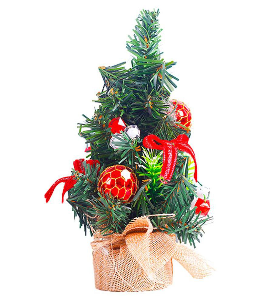 Mini Tabletop Christmas Tree Decoration Centerpiece Holiday Xmas Ornament Gift
