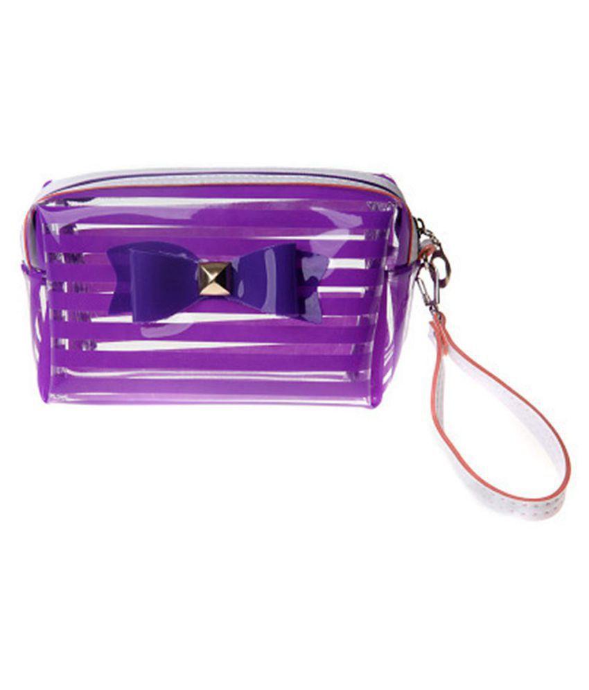 Waterproof Cosmetic Makeup Toiletry Bag Storage Organizer Pouch Purse Handbag
