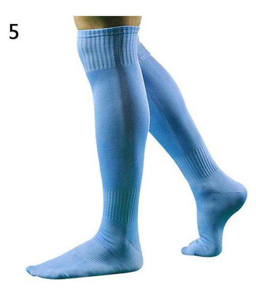 Men Fashion Sport Football Baseball Hockey Soccer Long Socks Over Knee High Socks