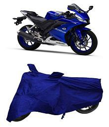 De Autocare Blue Matty Bike Body Cover for Yamaha R15 V3.0