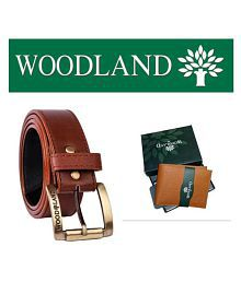 1ccb33a4e Quick View. woodland combos Brown Faux Leather Belts ...