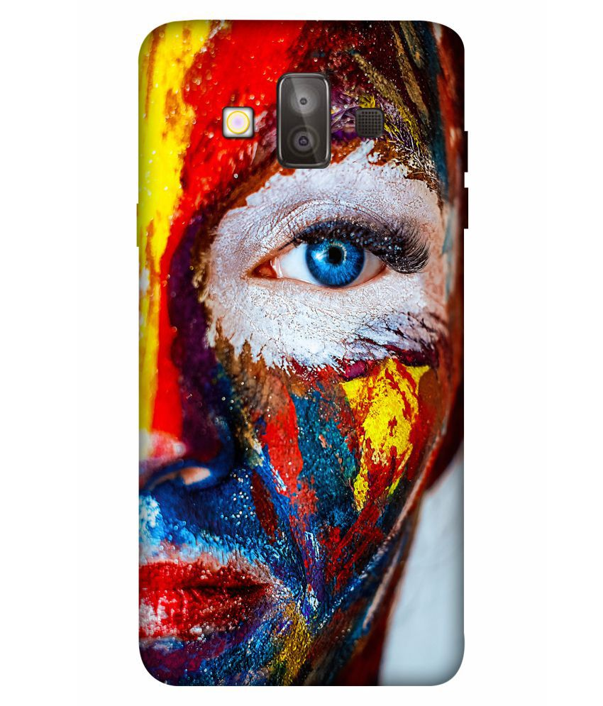 Samsung Galaxy J7 Duo Printed Cover By Crockroz Patterns