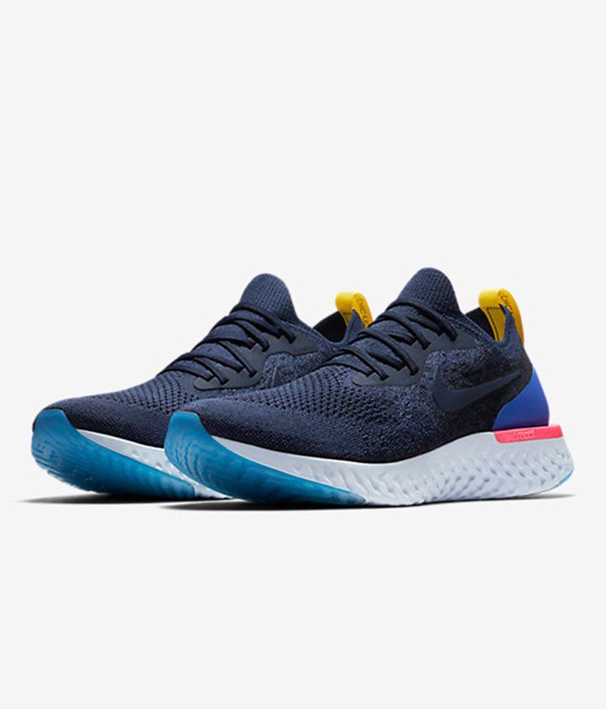 dc9f16b3a7b0b ... spain nike epic react flyknit blue running shoes d9d32 f0b8b