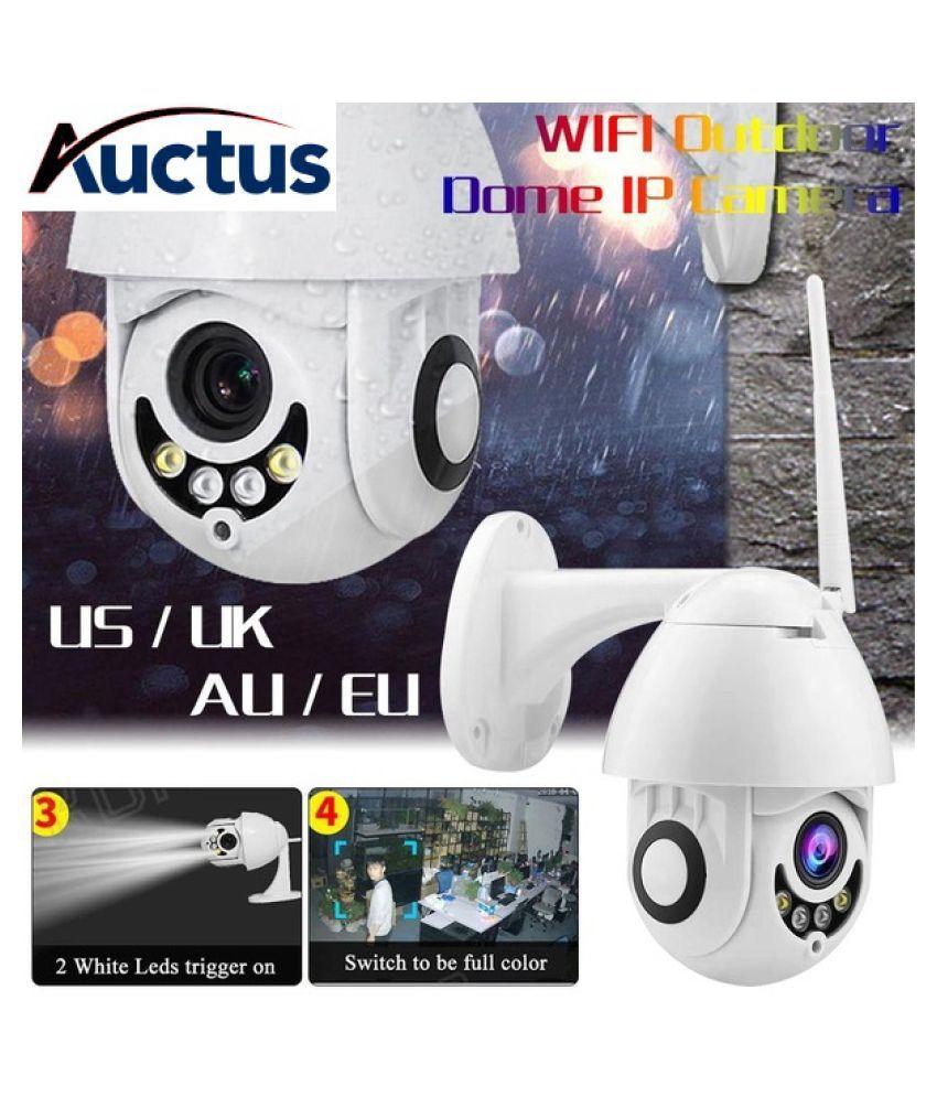 AUCTUS WIFI Camera Outdoor PTZ IP 1080p Speed Dome CCTV Security Cameras IP WIFI Surveilance Wi Fi PTZ 2 MP Camera