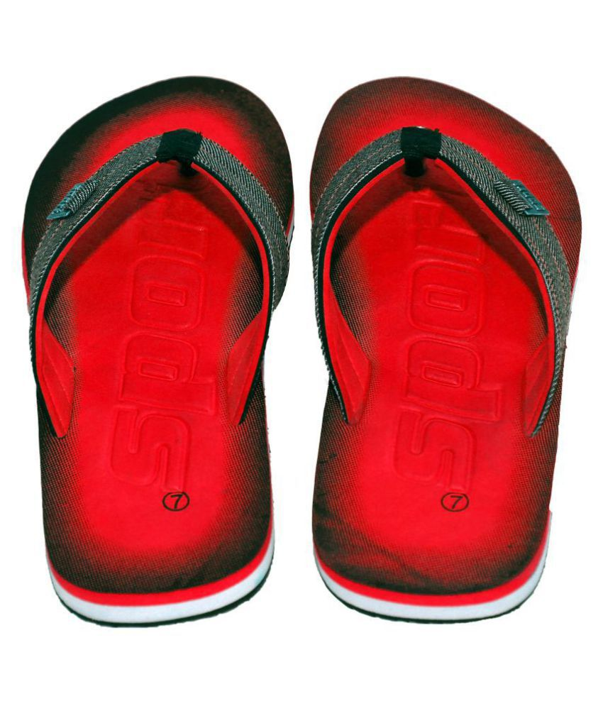 b51d8a8dc5139b Polo Flip Flops Red Thong Flip Flop Price in India- Buy Polo Flip Flops Red  Thong Flip Flop Online at Snapdeal