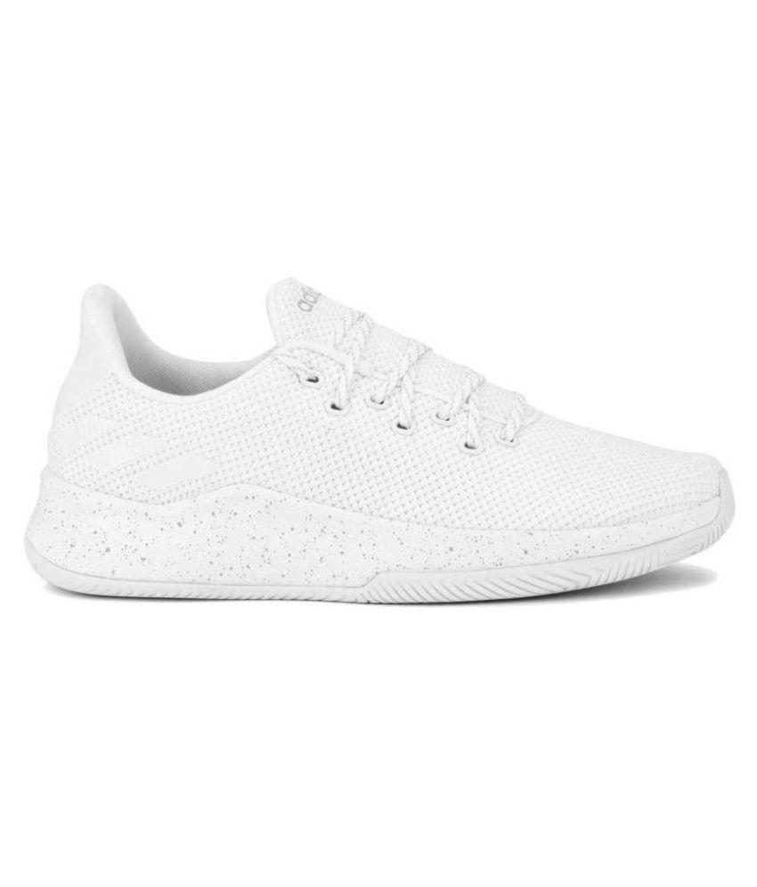 a46e40f37ee Adidas SPEEDBREAK White Basketball Shoes Adidas SPEEDBREAK White Basketball  Shoes ...