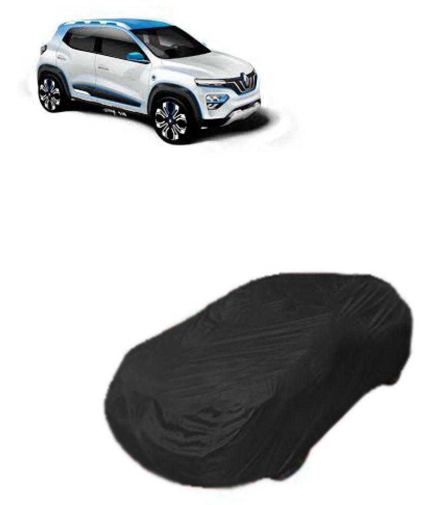 Qualitybeast Renault Kwid Ev Car Body Cover Black Buy Qualitybeast