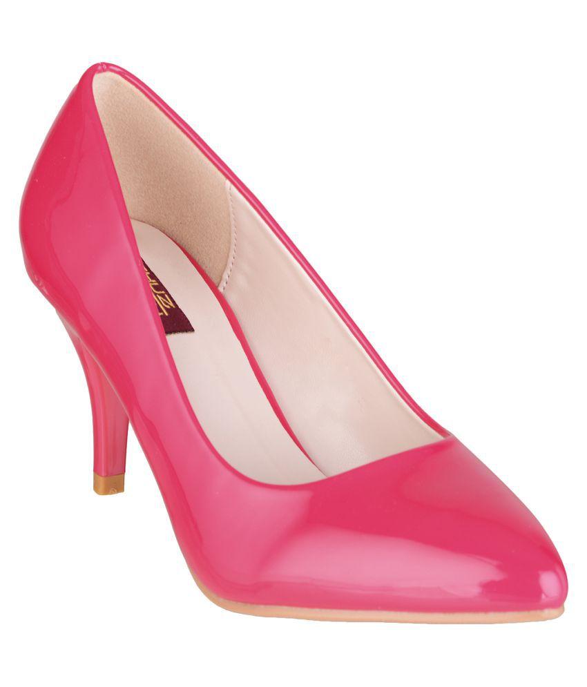 Shuz Touch Pink Stiletto Heels