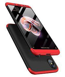 Xiaomi Redmi Note 6 Pro Plain Cases Doyen Creations - Black Premium Quality 360 protection cover