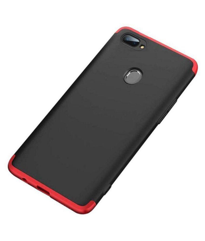Realme U1 Plain Cases Doyen Creations - Black Premium Quality 360 protection cover
