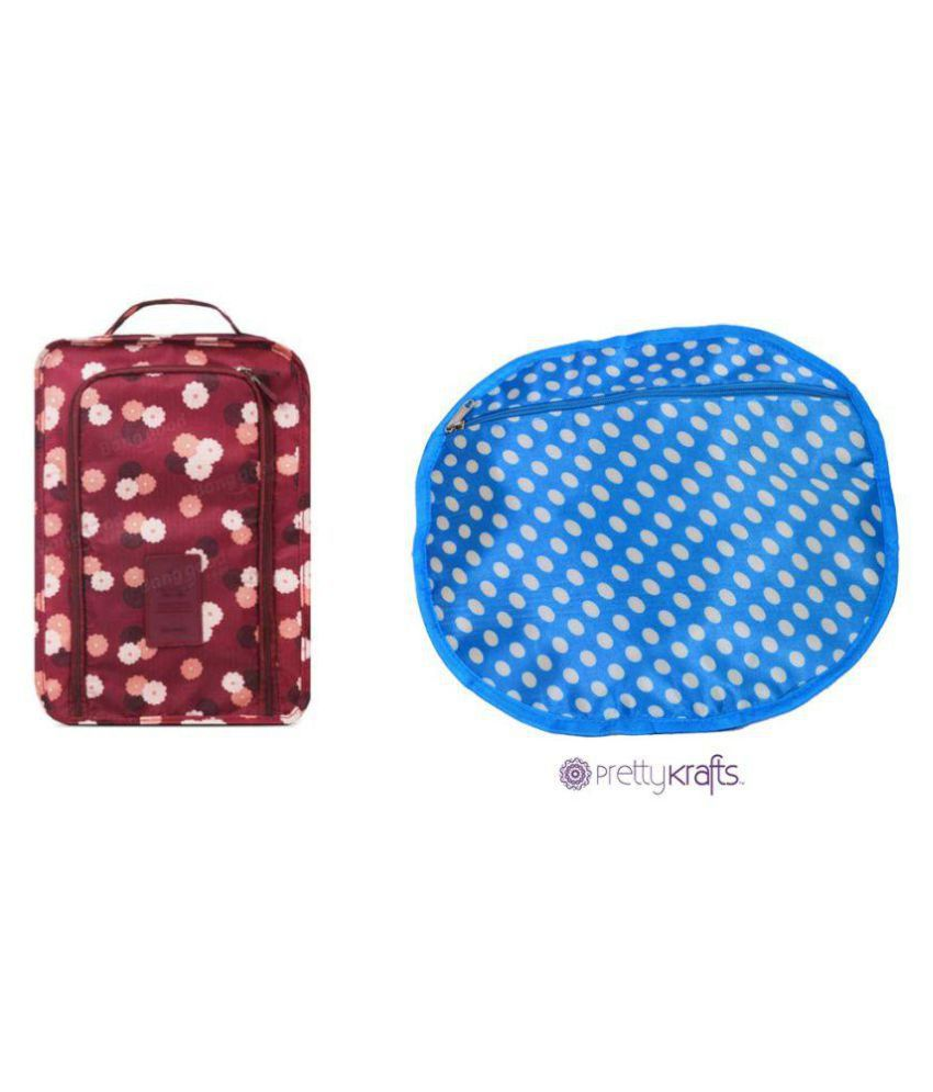 PrettyKrafts Blue Travel Kit - 2 Pcs