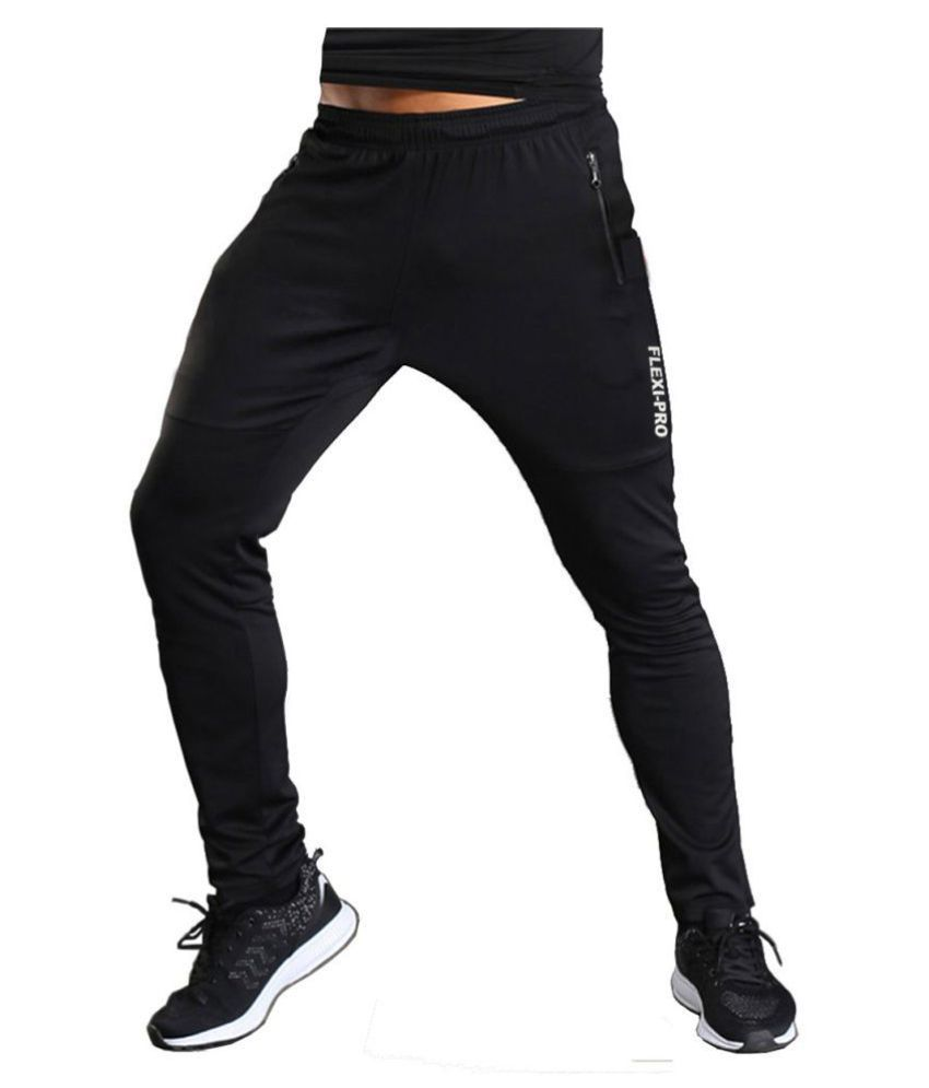 Zesteez Men Ultra Stretchable Gym-Workout Track Pants in Premium Quality Fabric