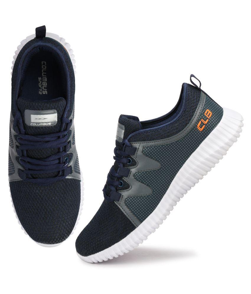 Columbus Orange Running Shoes