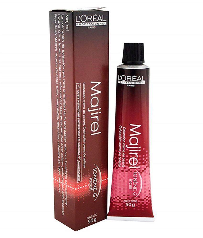 Majirel Lightest Brown Color No. 5 Permanent Hair Color Light Brown 50 gm