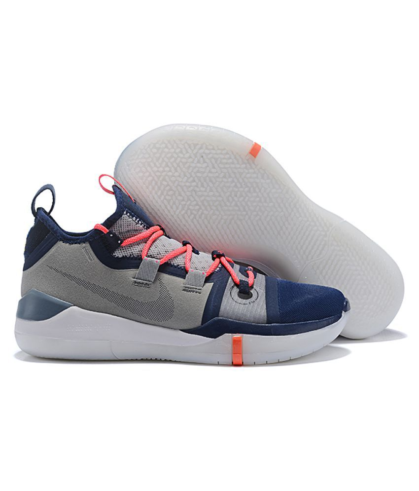 online store 4096d 43cb0 Nike KOBE AD 2019 Ninja Gray Basketball Shoes - Buy Nike KOBE AD 2019 Ninja  Gray Basketball Shoes Online at Best Prices in India on Snapdeal