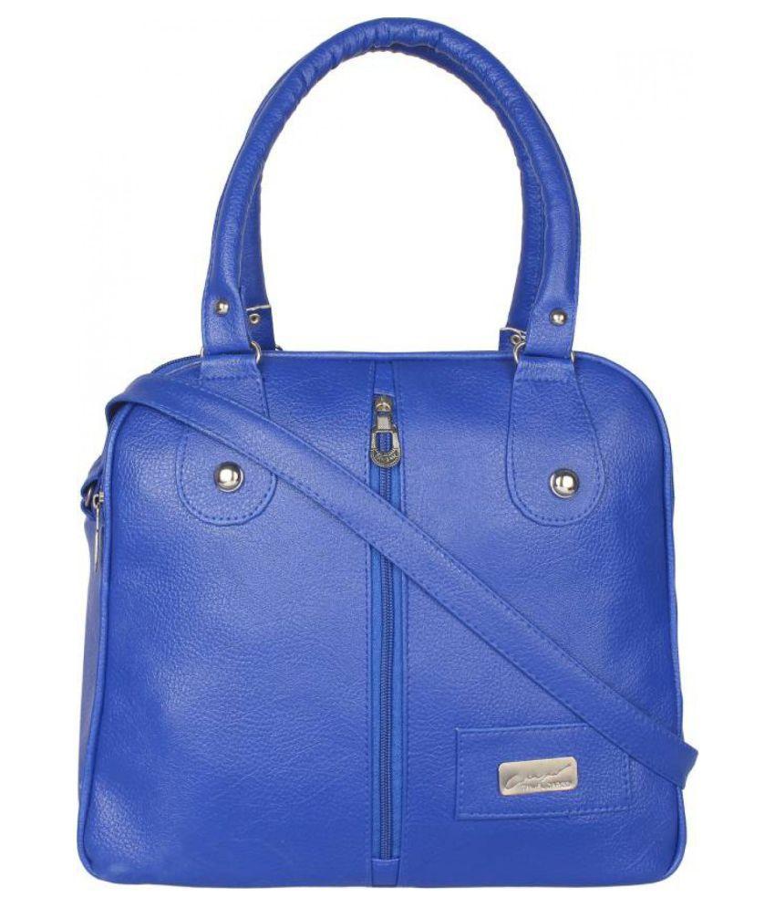 onland Blue P.U. Sling Bag