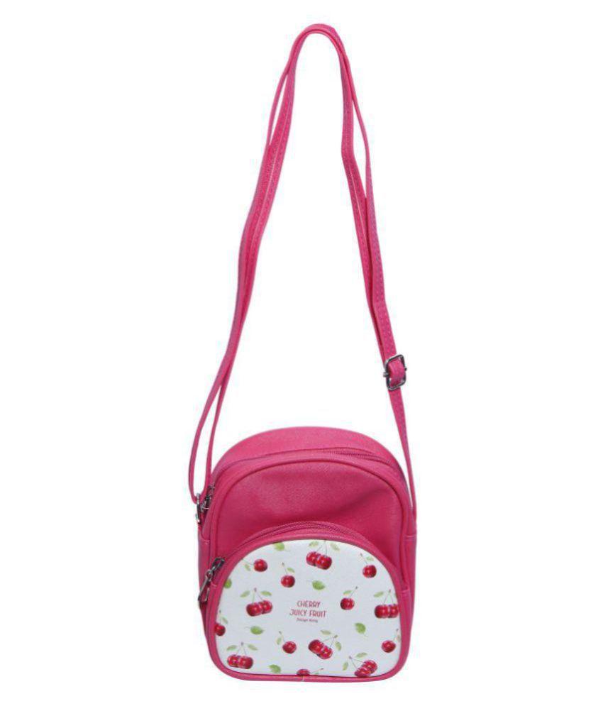 26bd9599e31e ERA INNOVATIVE GIFTING New Fruit Design Sling   Hand Bag for Kids   Girls