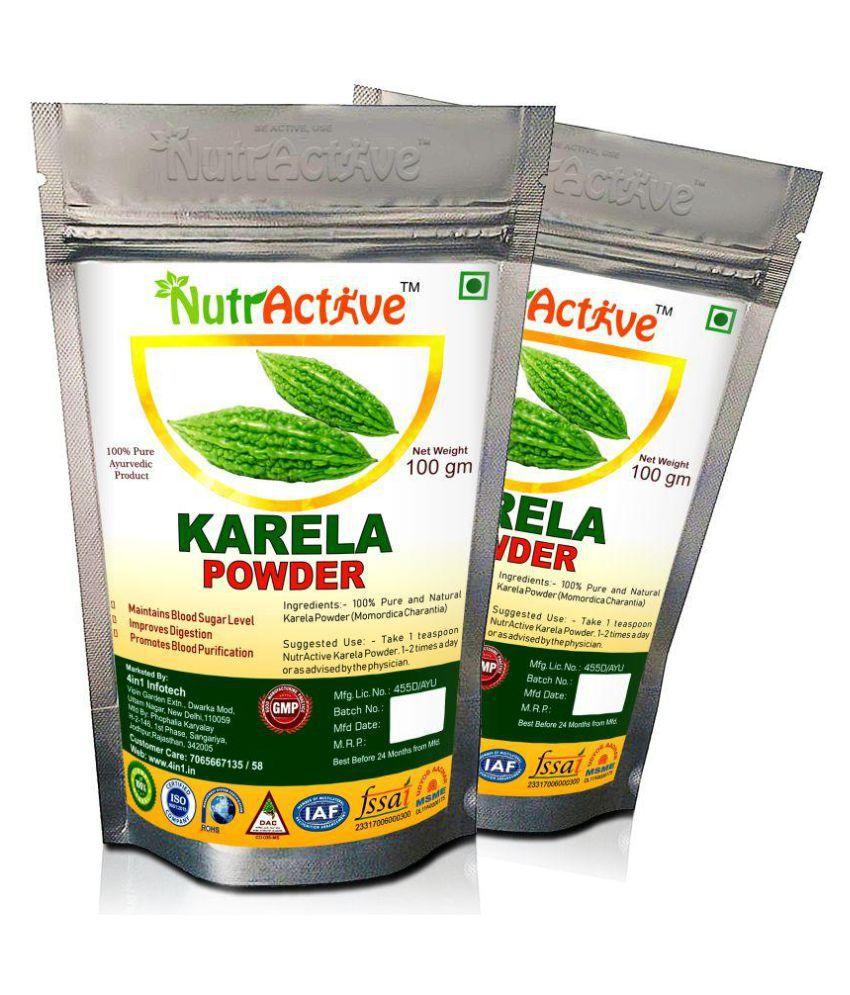 NutrActive Pure Karela Powder 200 gm