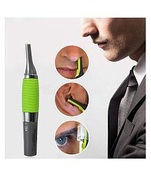 MISHREE Micro Touches Personal Trimmer Nose Trimmer ( Green )
