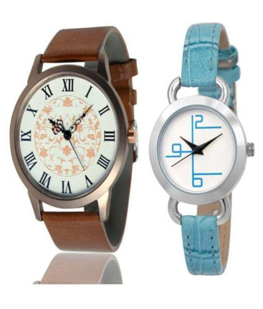 NEW FANCY ANALOG WATCH ONLY FOR COUPLE