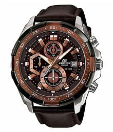 Men Fashion EX306 Leather Analog Men's Watch