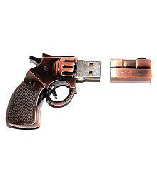 Tobo Metal Gun Shaped USB Drive 32GB USB 2.0 Fancy Pendrive Pack of 1