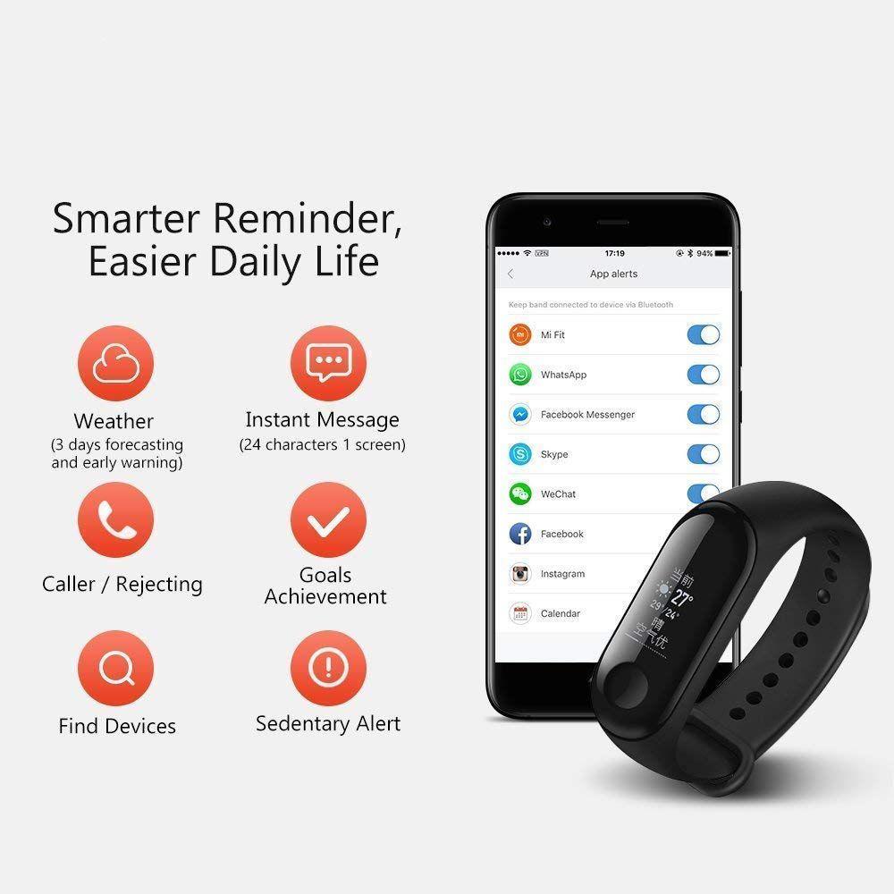 M3 Intelligence Bluetooth Health Wrist Smart Band Watch Monitor/Smart  Bracelet/Health Bracelet/Activity Tracker/Smart Fitness Band Compatible for  All