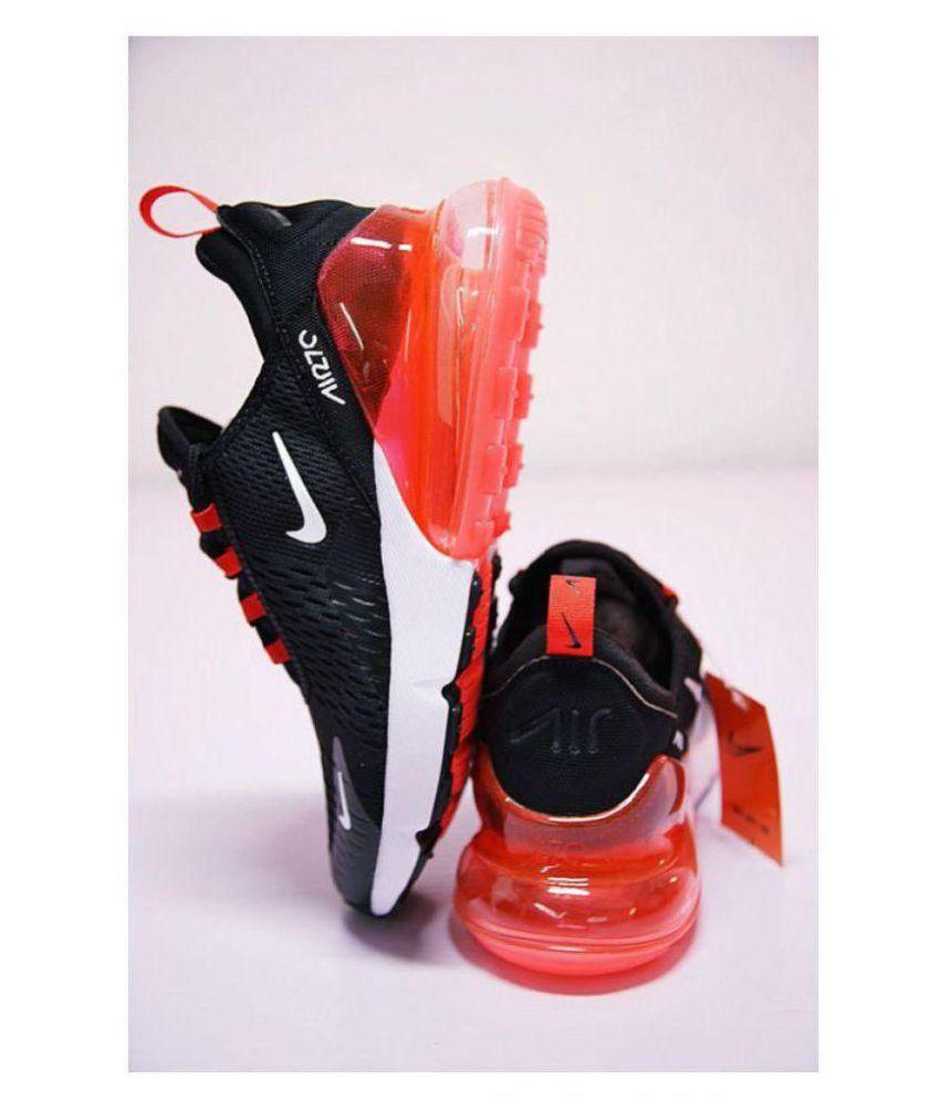 Nike AIR 270 Black Running Shoes - Buy