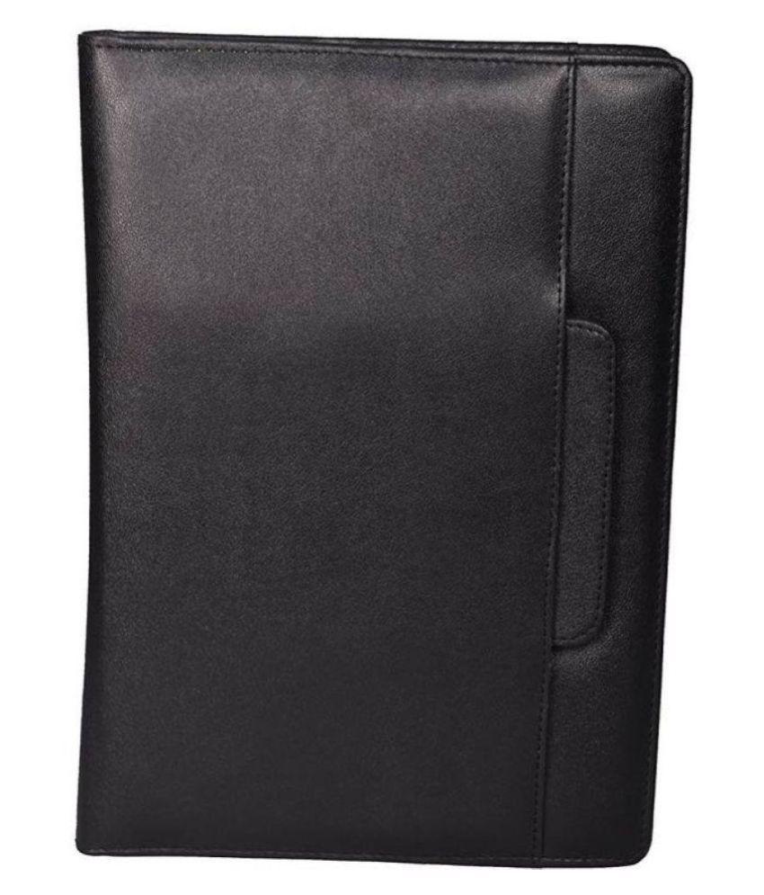 Helloperfect Leatherite Document Folder  (Set Of 1, Black)