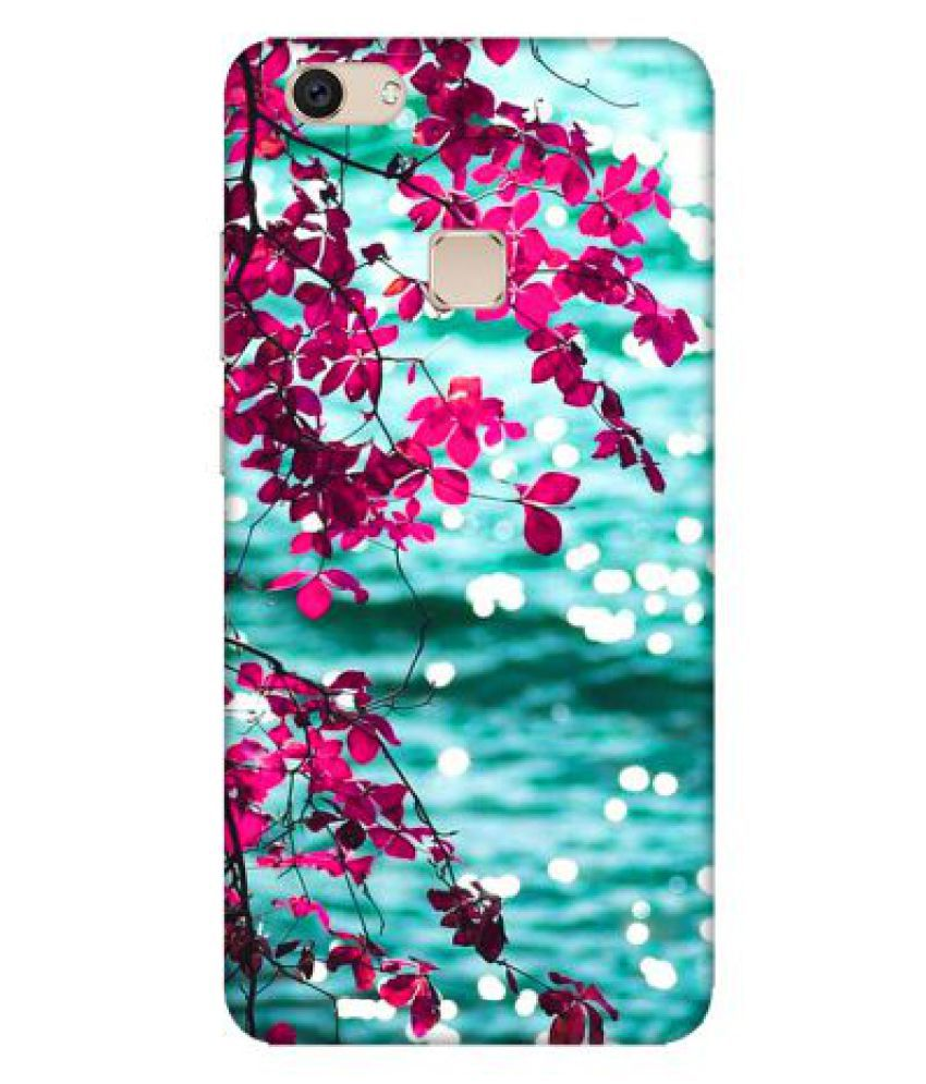 Vivo V7 Printed Cover By Emble