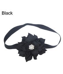 Cute Lotus Flower Hair Band Elastic Headband Toddler Baby Girls Hair Accessory