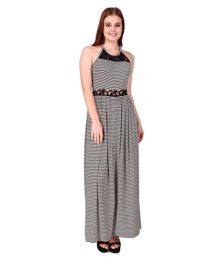 Texco Cotton Multi Color Regular Dress