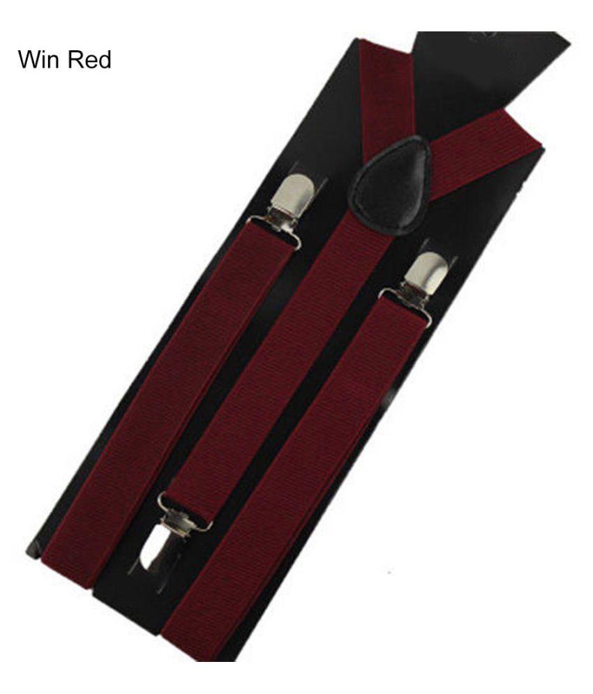 f568b6417 Unisex Elastic Y-Shape Braces Men s Women s Adjustable Clip-on Suspenders  ...