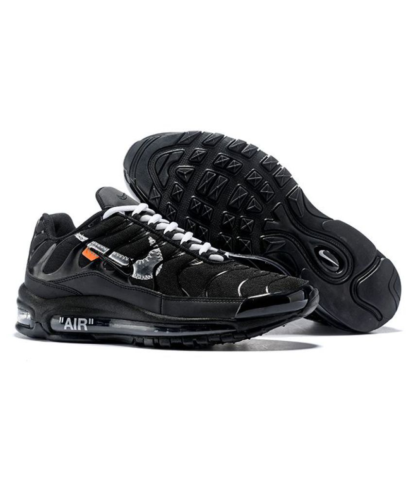info for bdeb4 cfba8 Nike Air Max 97 Plus OFF-WHITE 2019 Running Shoes Black