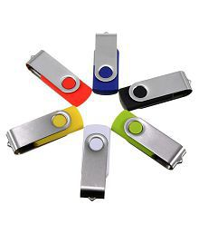 MECO 1Pcs 128MB Swivel USB 2.0 Flash Drive Memory Stick Foldable Pen Storage Thumb U Disk Gift