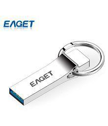Original EAGET U90 USB 3.0 Flash Drives 64GB 32GB 16GB Metal USB Mini Memory Stick Pen Drive Data Transfer For Laptop PC