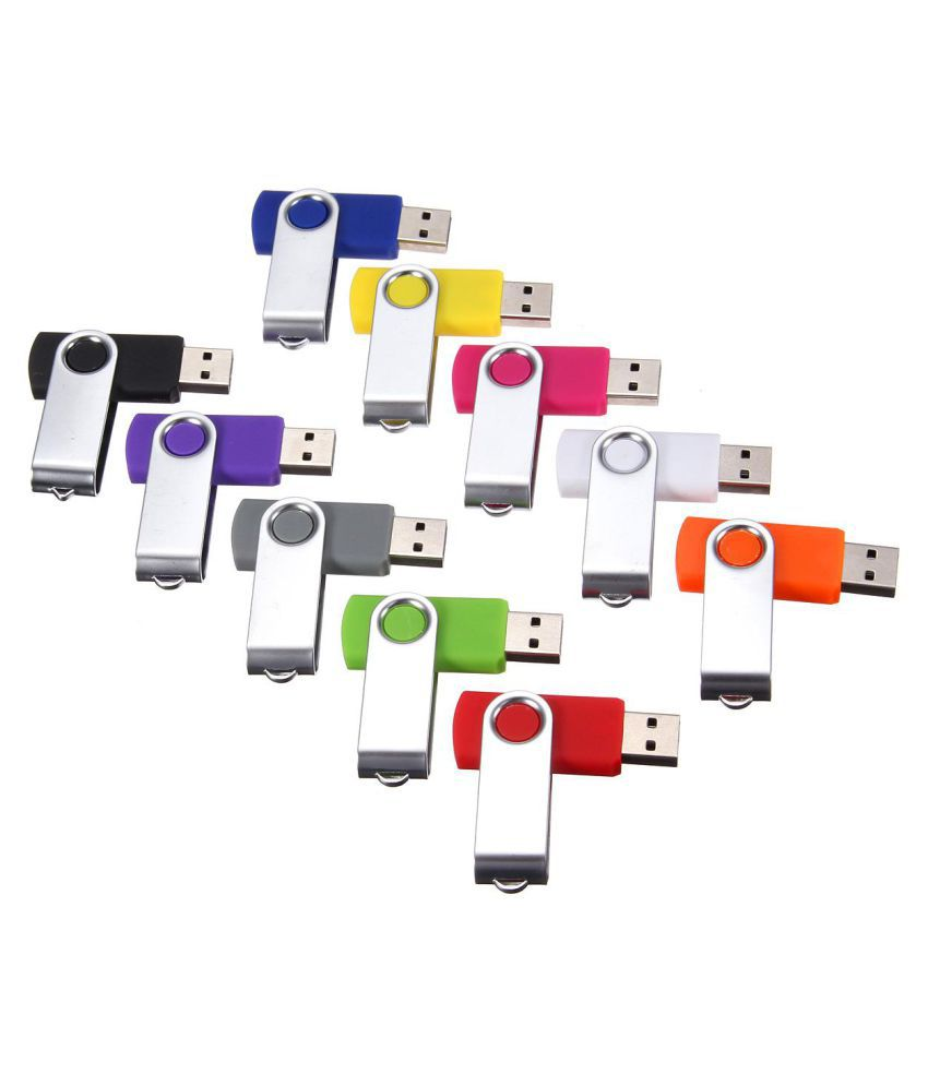 Foldable Swivel 2GB USB 2.0 Flash Memory Stick Pen Drive Storage Thumb U Disk