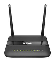 D-Link DSL-2750U Wireless N 300Mbps ADSL2+ Wifi Router Modem (Black)