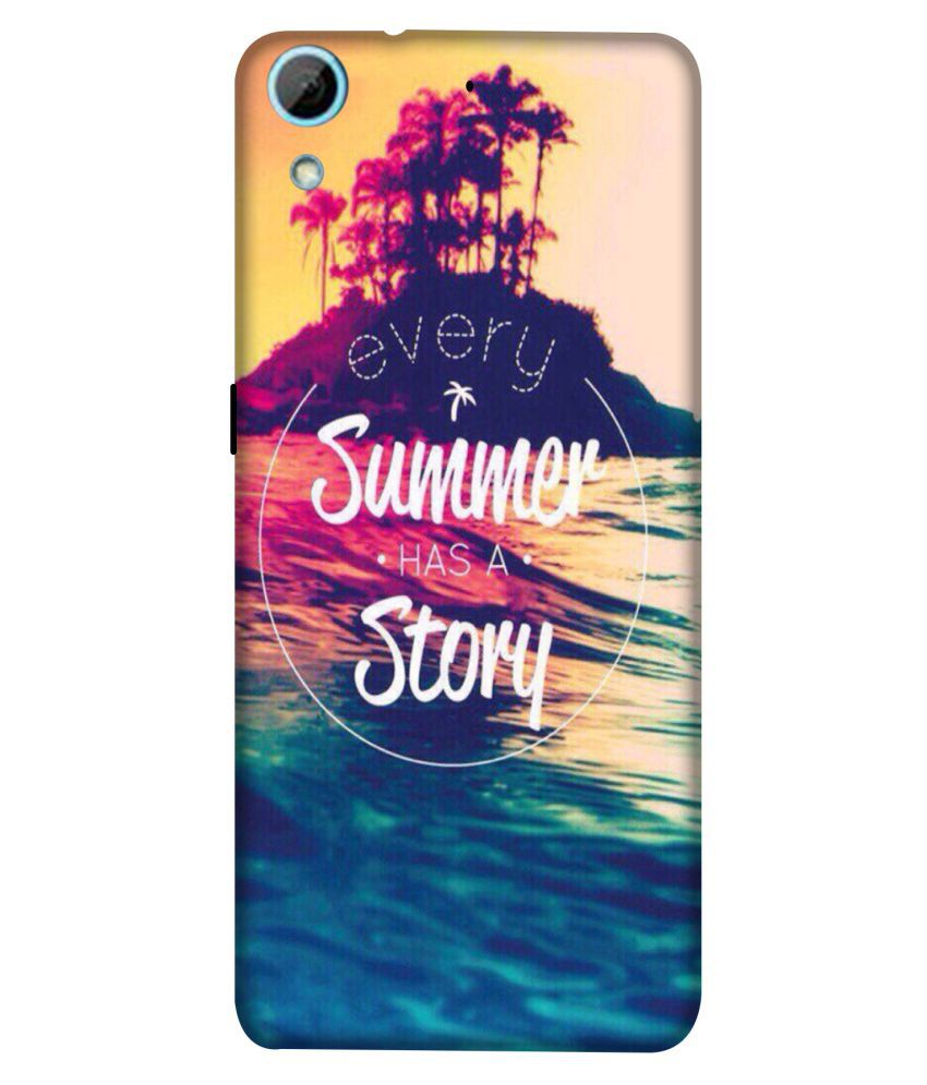 HTC Desire 626 Printed Cover By Crockroz New Wallpaper Printed