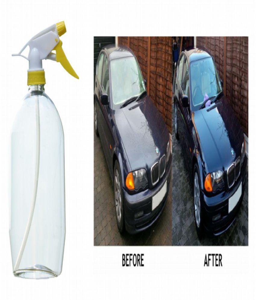 Spray Car Wash >> Multipurpose Car Wash Bottle Yellow Nozzle Spray
