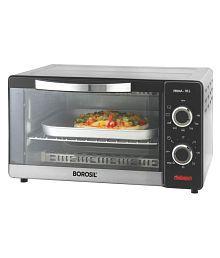 Borosil Prima 10L Convection Oven Toaster Grill OTG (Silver)