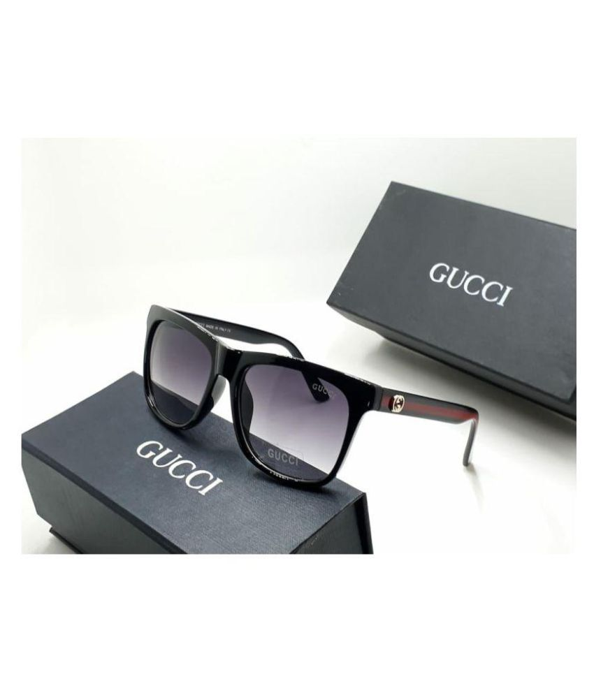 444f23a0567f3 Gucci Black Wayfarer Sunglasses ( G0057 ) - Buy Gucci Black Wayfarer ...