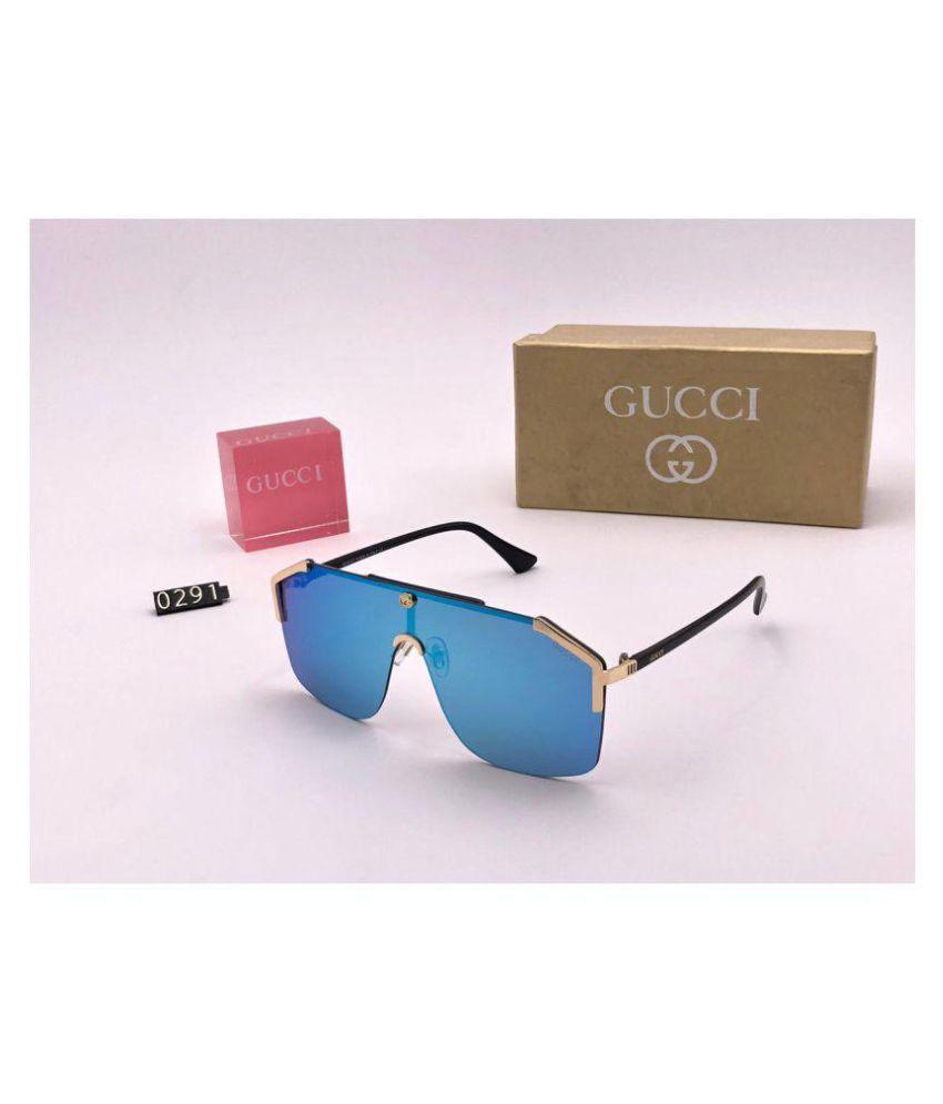 8aef51219c8b Gucci Ocean Blue Aviator Sunglasses ( G0291 ) - Buy Gucci Ocean Blue ...
