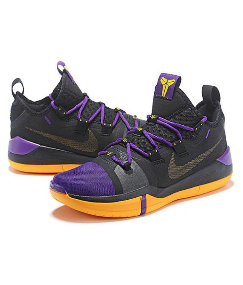 competitive price a1be4 50f58 Nike Nike Kobe Ad Exodus Black Yellow Midankle Male Black