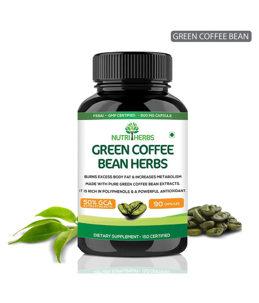 Nutriherbs Green Coffee Bean Extract 100 Pure Natural Weight