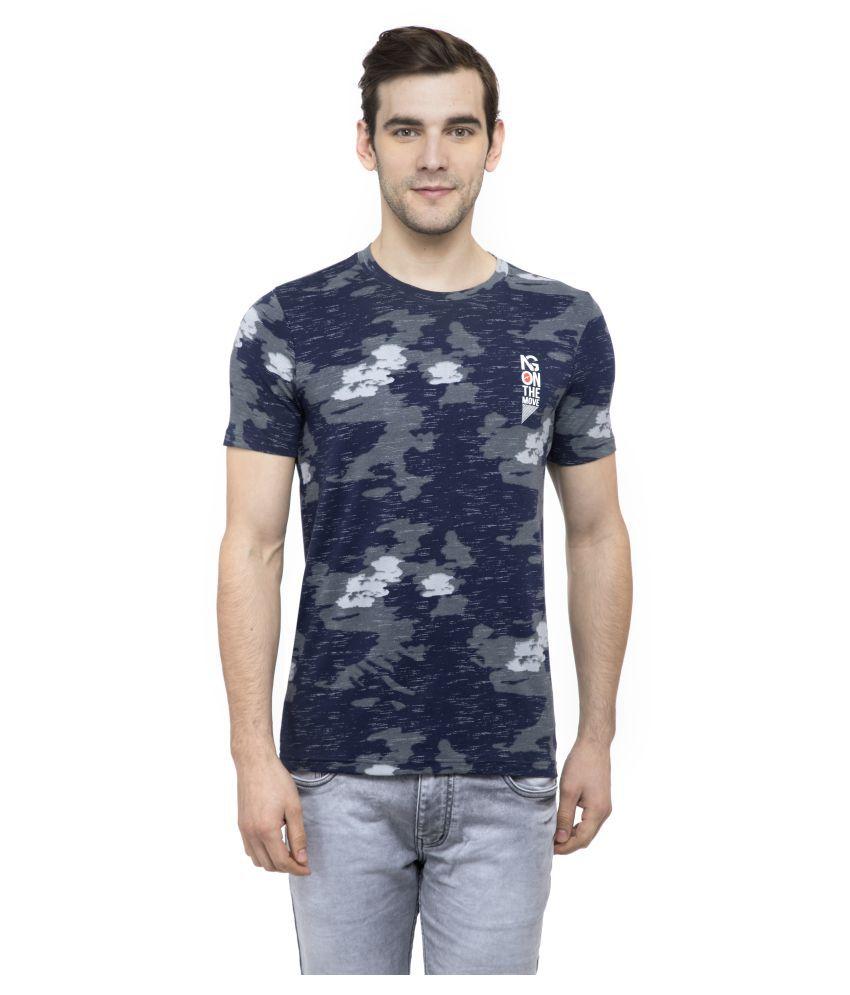 NEXGEN CLUB Blue Half Sleeve T-Shirt Pack of 1