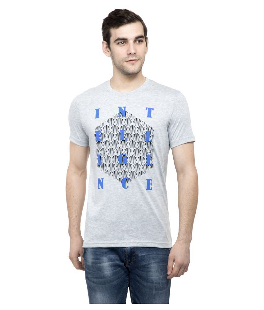NEXGEN CLUB Grey Half Sleeve T-Shirt Pack of 1