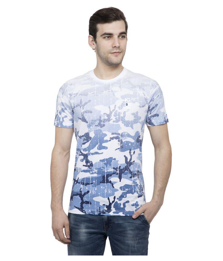 NEXGEN CLUB White Half Sleeve T-Shirt Pack of 1