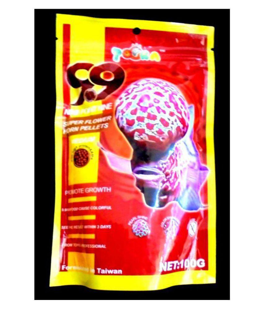 Topka 9 9 Flowerhorn Fish Food-100 gms: Buy Topka 9 9 Flowerhorn